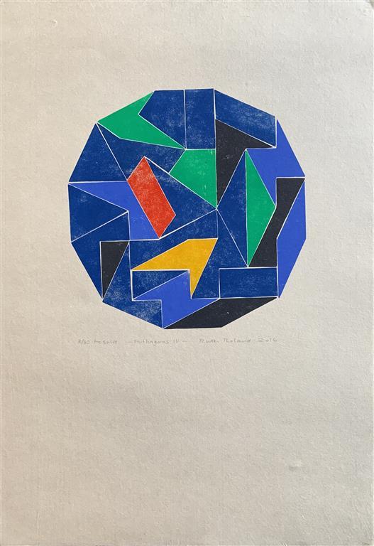 Pythagoras IV Tresnitt (43x43 cm) kr 3000 ur