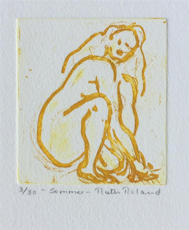 Sommer Etsning Variant (8x7,5 cm) kr 300 ur