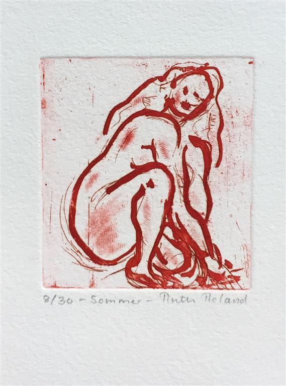 Sommer Etsning Variant II (8x7,5 cm) kr 300 ur