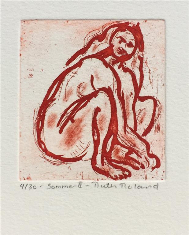 Sommer II Etsning (8x7,5 cm) kr 300 ur