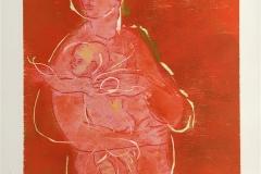 Du og jeg II Tresnitt (35x30 cm) kr 1900 ur