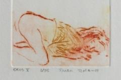 Eros V Etsning (6x8 cm) kr 600 ur