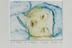 Nyfødt Etsning (6x8 cm) kr 500 ur