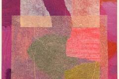 Erfaring 1-3 Collage, akryl (33x17 cm) kr 3000 ur