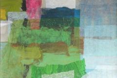 Overflaten, 09_7 Callage, papir, akryl (21x30 cm)