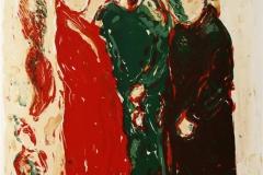 Tre Gratier Litografi 45x38 cm 2500 ur