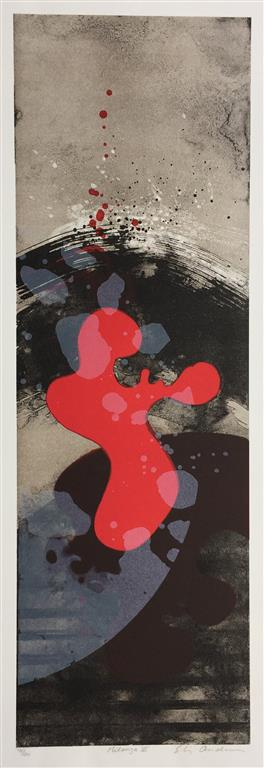 Milonga III Litografi (62x20 cm) kr 3300 ur