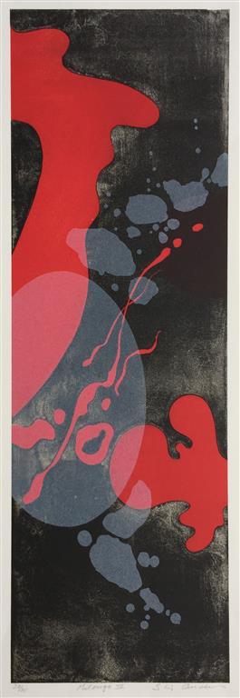 Milonga IV Litografi (62x20 cm) kr 3300 ur