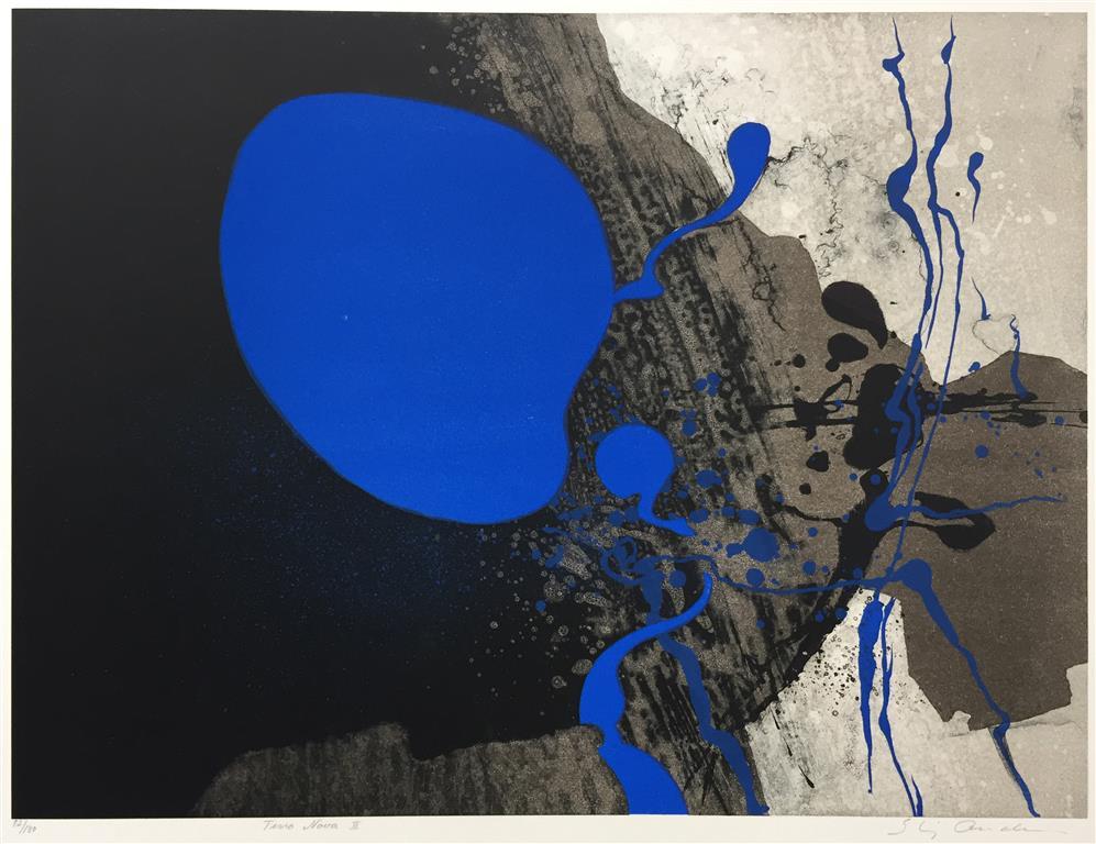 Terra Nova II Litografi (45x60 cm) kr 3800 ur