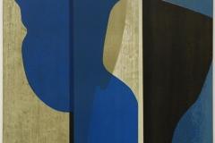 Blå Flamenco Litografi (60x60 cm) kr 4500 ur