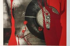 Piazzolla variasjon XII Litografi-silketrykk (45x61 cm) kr 4000 ur