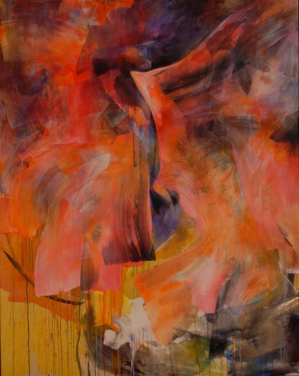 Akustisk Akrylmaleri kr 36000 ur