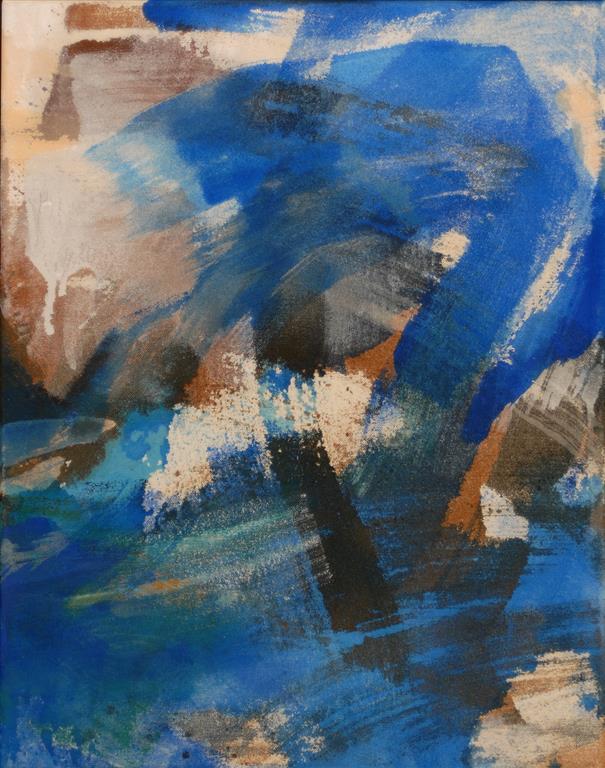 Bølge Akrylmaleri (46x36 cm) kr 3600 ur