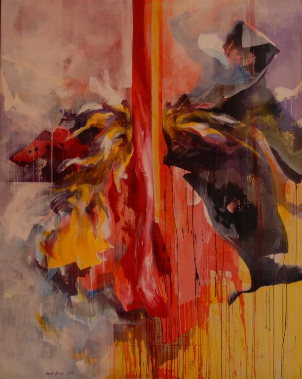 Ekko Akrylmaleri kr 38000 ur