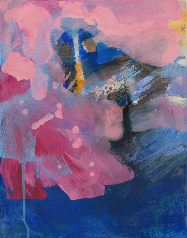 Refleksjon Akrylmaleri (46x36 cm) kr 3500 ur