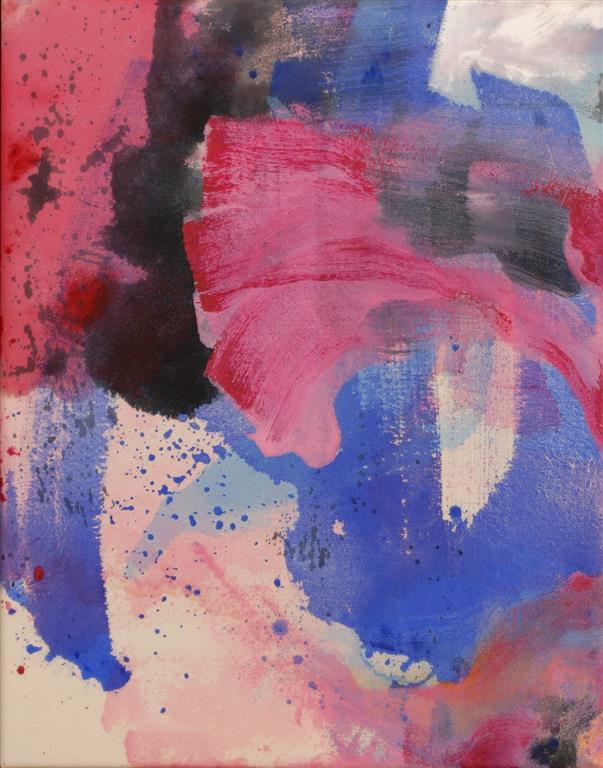 Refleksjoner Akrylmaleri (46x36 cm) kr 3700 ur