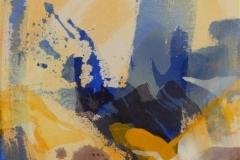 Liten Akrylmaleri (46x36 cm) kr 3500 ur