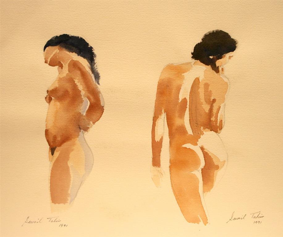 Aktstudier II Akvarell (28x38 cm) kr 4100 ur