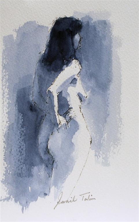 Gentle Gilda Akvarell (28x18 cm) kr 1400 ur
