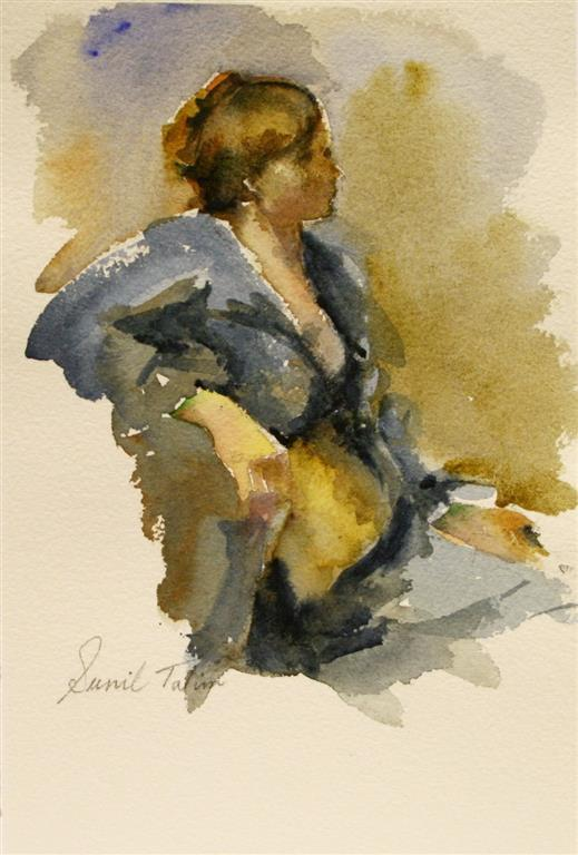 Ninella Akvarell 22x16 cm 1200 ur