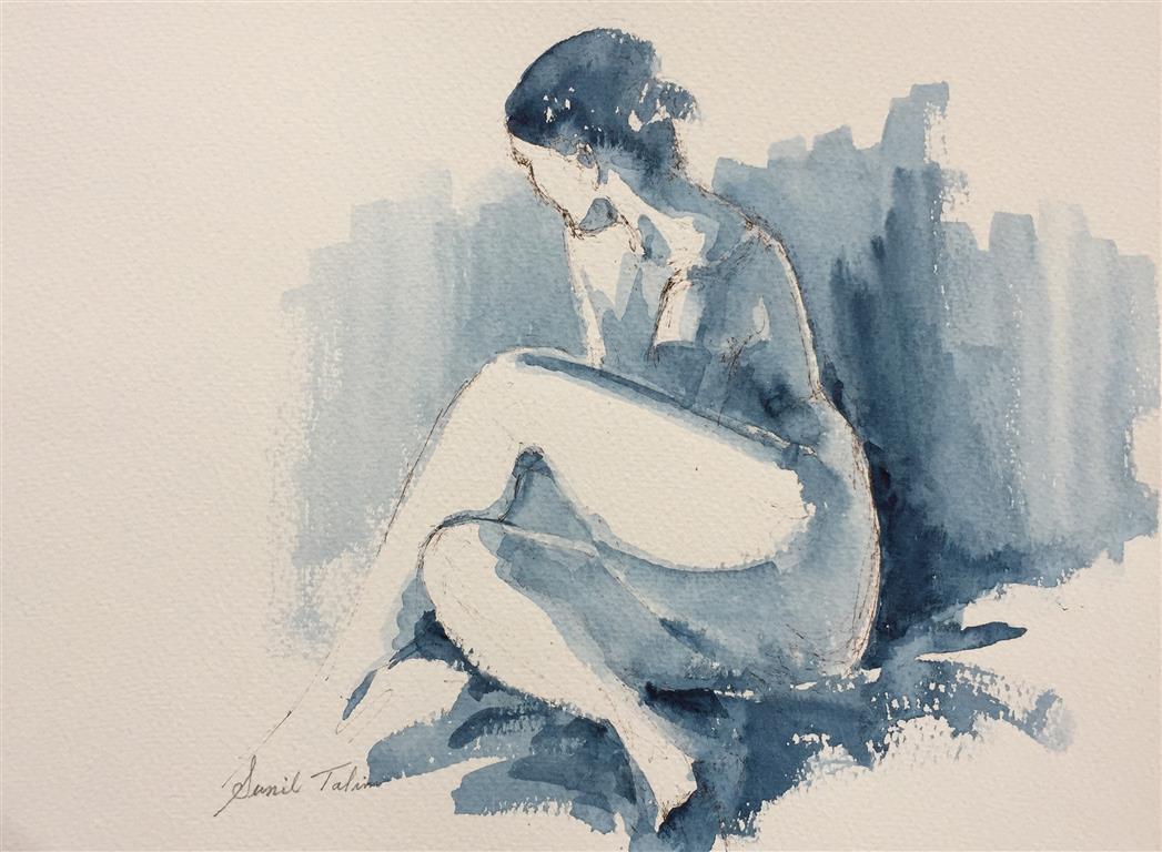 Vivienne Akvarell (27x30 cm) kr 2500 ur