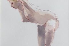 Akt-ballet Akvarell (18x15 cm) kr 1000 ur