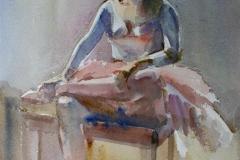 Ballerina Akvarell (38x28 cm) kr 3200 ur