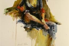 Charlotte I Akvarell (50x37 cm) kr 5000 ur