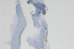 Eva in side view Akvarell (28x19 cm) kr 1200 ur