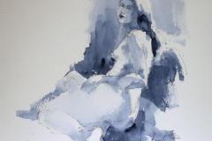 Leticia Akvarell 28x38 cm 3200 ur