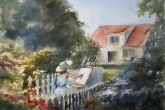 Malestund Akvarell 28x38 cm 3200 ur