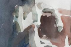 Sittende akt Akvarell (20x16 cm) kr 1200 ur