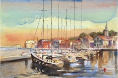Vågen Akvarell (28x38 cm) kr 3500 ur