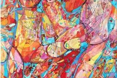 Elena Vorobyeva Barndomsminne Oljemaleri (40x30 cm) kr 8000