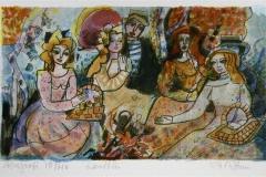 Landtur Serigrafi (15x24 cm) kr 900 ur