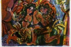 Tryllefløyten Serigrafi (17x24 cm) kr 700 ur