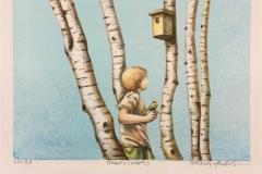 Homesickness Litografi (20x29 cm) kr 900 ur