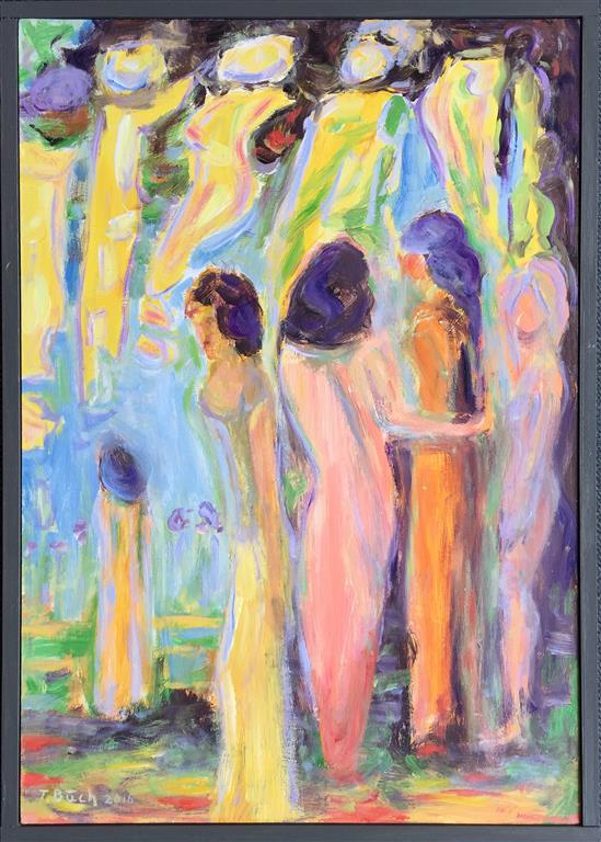 Kvinner II Oljemaleri (61x40 cm) kr 3500