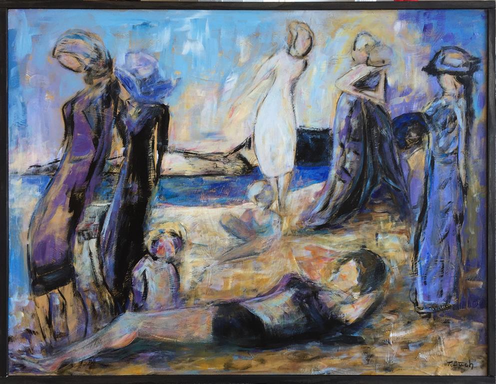 Vårluft Akrylmaleri (61x80 cm) kr 5500