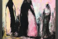 Skisse III Akrylmaleri (30x30 cm) kr 1800 mr