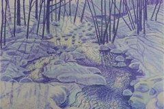 Early Spring Litografi (38,5 x 49,5 cm) kr 4000 ur