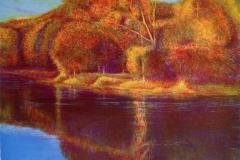 Early Sun Litografi (44x37 cm) kr 4000 ur