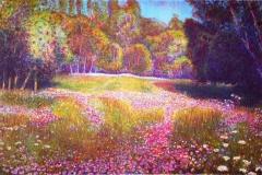 Wild Flowers Litografi (32,5x49,5 cm) kr 3800 ur