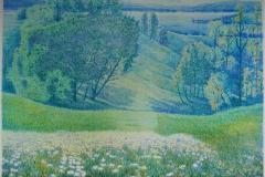 Wild Flowers ll Litografi (38x52,5 cm) kr 4000 ur
