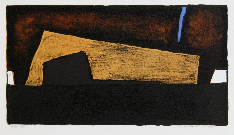 I en grotte Litografi (13x24 cm) kr 350 ur