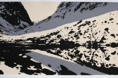 Landskap II Serigrafi (25x64 cm) kr 3000 ur