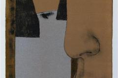 Profil, fugl Litografi (41x20 cm) kr 1200 ur