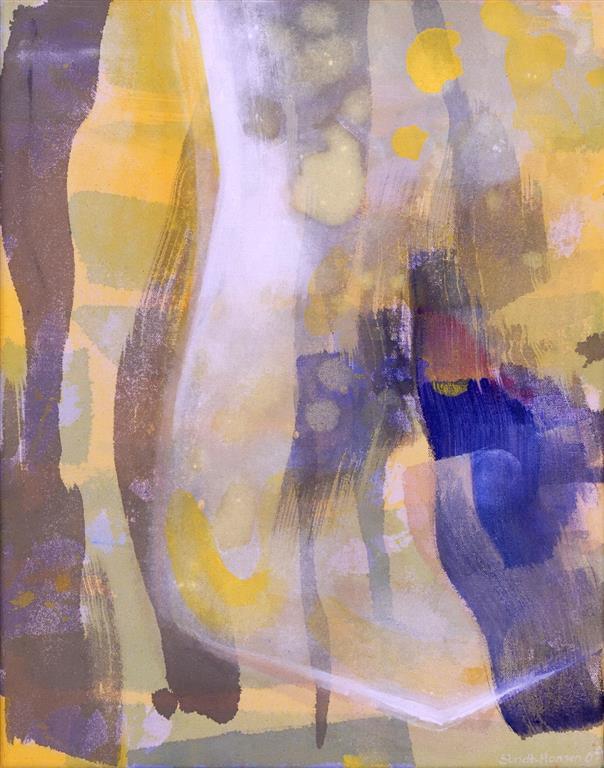 Monument Akrylmaleri (46x36 cm) kr 3400 ur