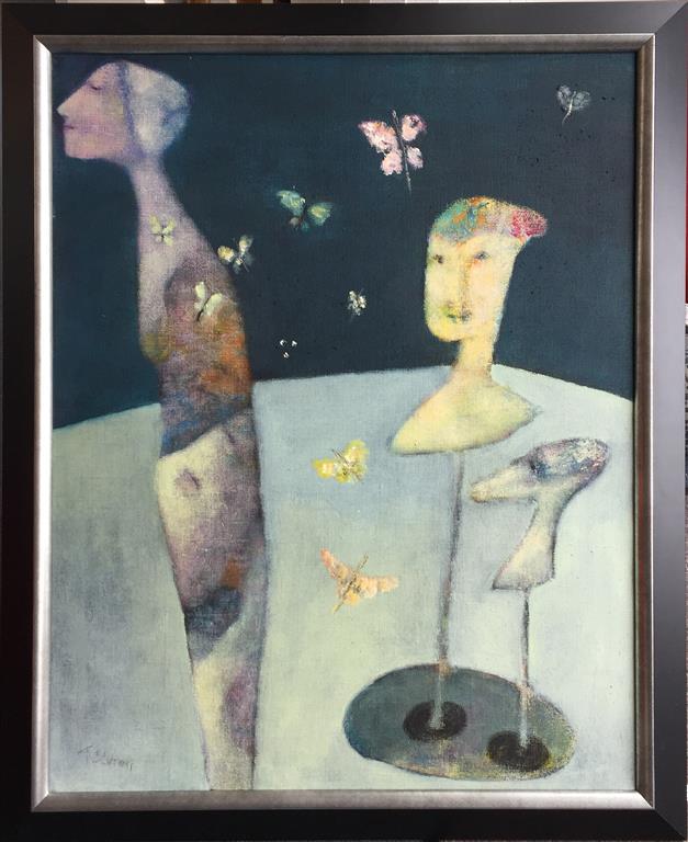 Forvandling Akrylmaleri (80x64 cm) kr12800 mr