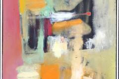 Hva er nå det I? Akrylmaleri (70x50 cm) kr 6500 ur